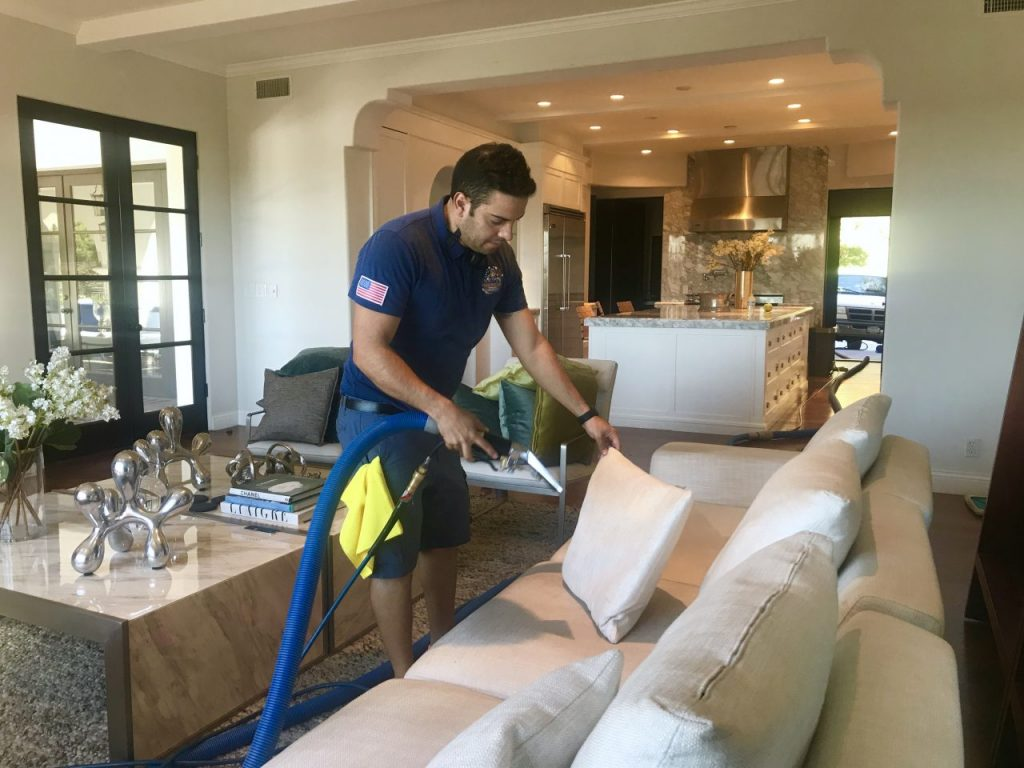 Deep Carpet Cleaning Service Upland County
